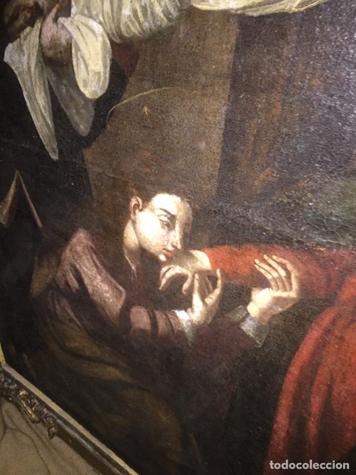 Arte: Óleo sobre tela escuela andaluza(pieza para ver en Mallorca) - Foto 11 - 195150618