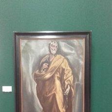 Arte: EXCELENTE COPIA ANTIGUA DE SAN PEDRO / EL GRECO. Lote 139390430