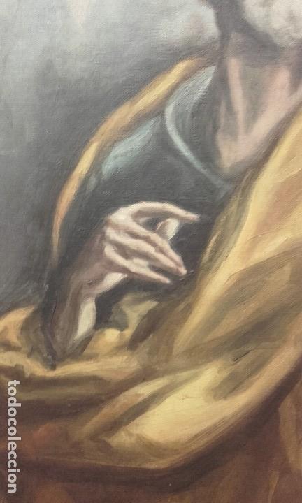 Arte: Excelente copia antigua de San Pedro / El Greco - Foto 5 - 139390430
