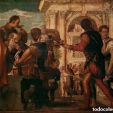 Arte: 1940 LITOGRAFIA ORIGINAL SIGLO XX- BODAS DE CANA - PAOLO CAGLIARI - RELIGION - JESUCRISTO -. Lote 139570678