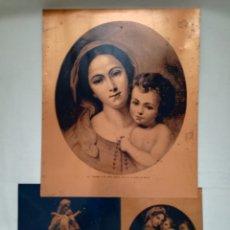 Arte: ANTIGUAS CHAPAS RELIGIOSAS LITOGRAFIADAS. Lote 140141724