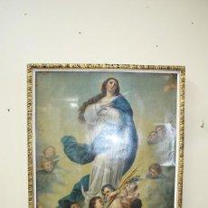 Arte: LÁMINA RELIGIOSA VIRGEN INMACULADA. Lote 140237970