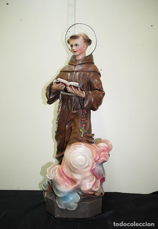 FIGURA RELIGIOSA SAN ANTONIO (Arte - Arte Religioso - Escultura)