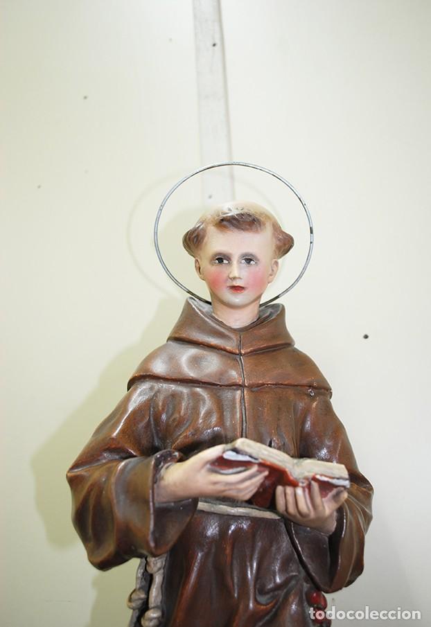 Arte: FIGURA RELIGIOSA SAN ANTONIO - Foto 2 - 140238510