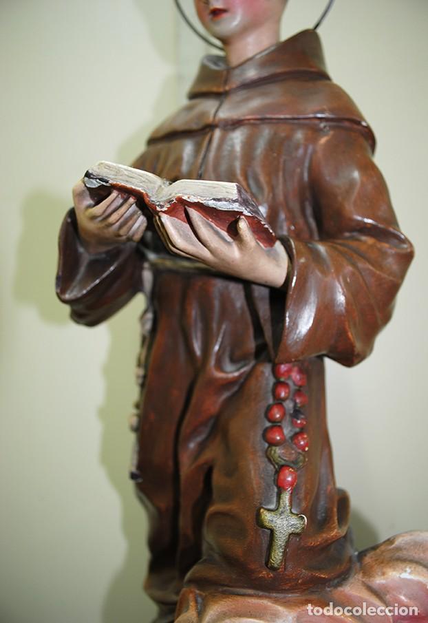 Arte: FIGURA RELIGIOSA SAN ANTONIO - Foto 4 - 140238510
