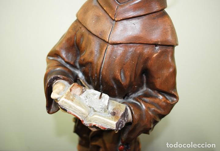 Arte: FIGURA RELIGIOSA SAN ANTONIO - Foto 5 - 140238510