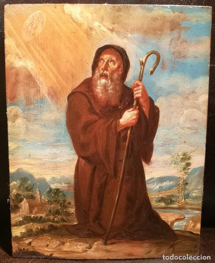 SAN FRANCISCO DE PAULA ATRIBUIDO A VICENTE LOPEZ PORTAÑA (1772-1850) (Arte - Arte Religioso - Pintura Religiosa - Oleo)