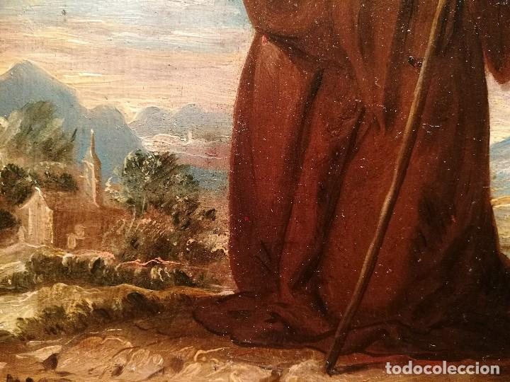 Arte: SAN FRANCISCO DE PAULA ATRIBUIDO A VICENTE LOPEZ PORTAÑA (1772-1850) - Foto 3 - 140315302