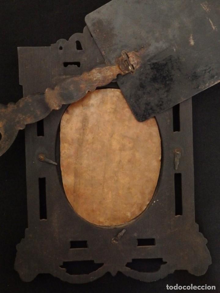 Arte: La Virgen con el NIño. Óleo sobre cobre del siglo XVIII. - Foto 17 - 140441962