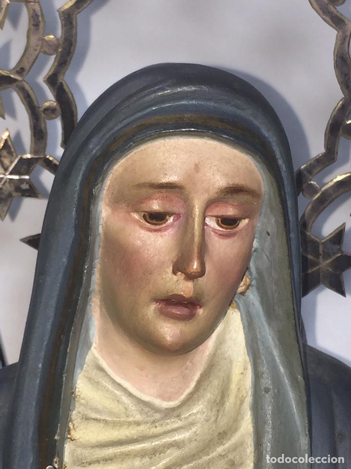 Arte: Escultura de Olot Sagrado corazón de jesus - Foto 6 - 140514452