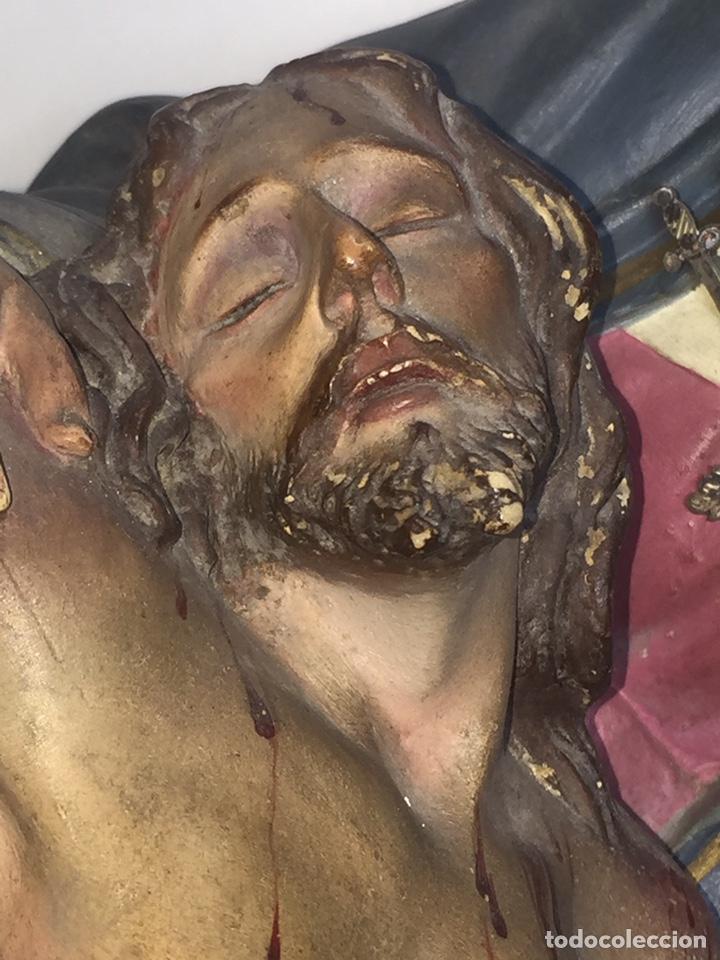 Arte: Escultura de Olot Sagrado corazón de jesus - Foto 8 - 140514452