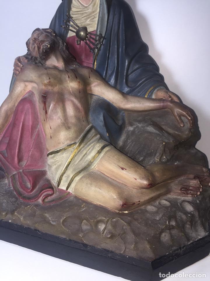 Arte: Escultura de Olot Sagrado corazón de jesus - Foto 10 - 140514452