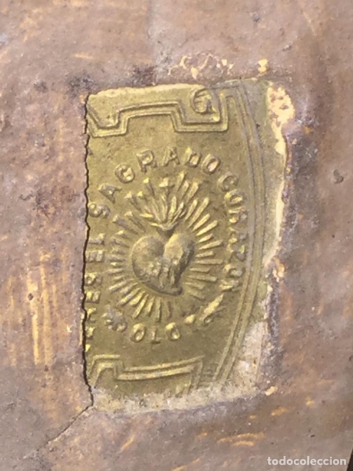 Arte: Escultura de Olot Sagrado corazón de jesus - Foto 16 - 140514452