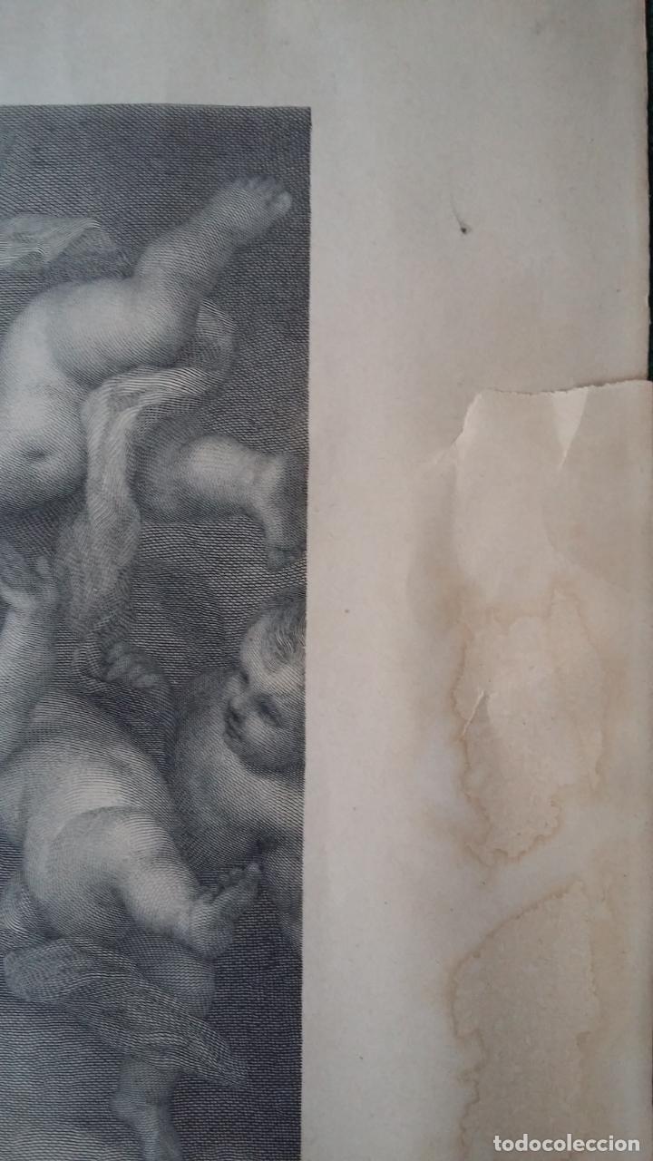 Arte: GRABADO ORIGINAL FINALES S. XIX - LA INMACULADA CONCEPCIÓN DE MURILLO - IMPRESO POR GOUPIL - Foto 8 - 140524718