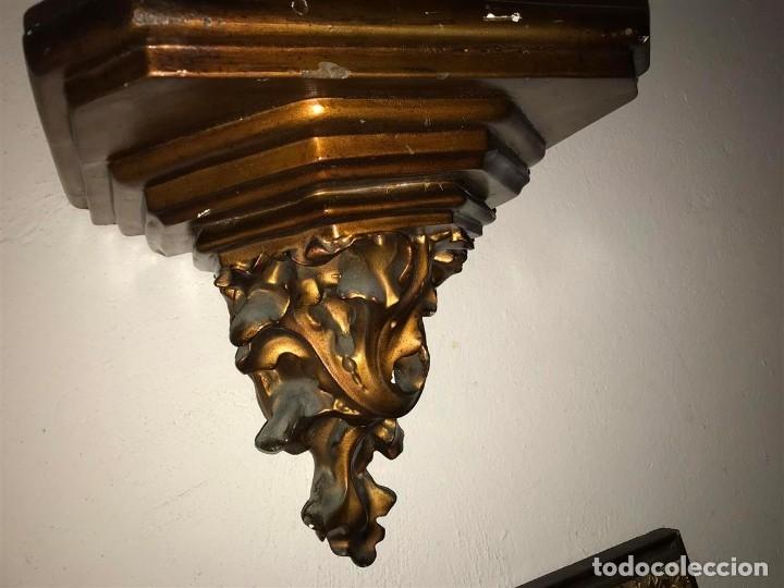 Arte: Sagrado Corazón de Olot con peana, - Foto 10 - 140780094