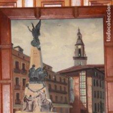 Arte: PLAZA VIRGEN BLANCA DE VITORIA. Lote 140813950