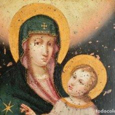 Arte: ANTIGUO COBRE RELIGIOSO - VIRGEN DEL PÓPULO - . Lote 140848450
