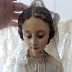 Arte: VIRGEN DE MUSEO. CARA DIVINA. GRAN TAMAÑO, SIGLO 19, CAPILLA EN SEVILLA. Lote 141000746