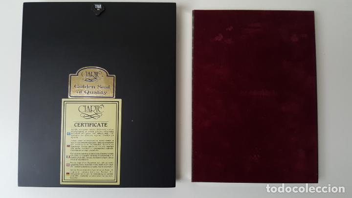 Arte: ANTIGUOS ICONOS RELIGIOSOS EN PLATA DE LEY DE LA CASA CLARTE - Foto 3 - 141115010