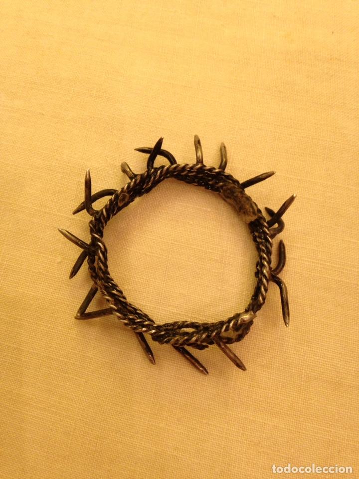 Arte: Cristo crucificado talla madera siglo XVIII - Foto 63 - 141177484