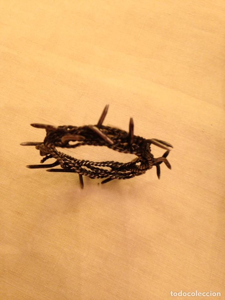 Arte: Cristo crucificado talla madera siglo XVIII - Foto 65 - 141177484
