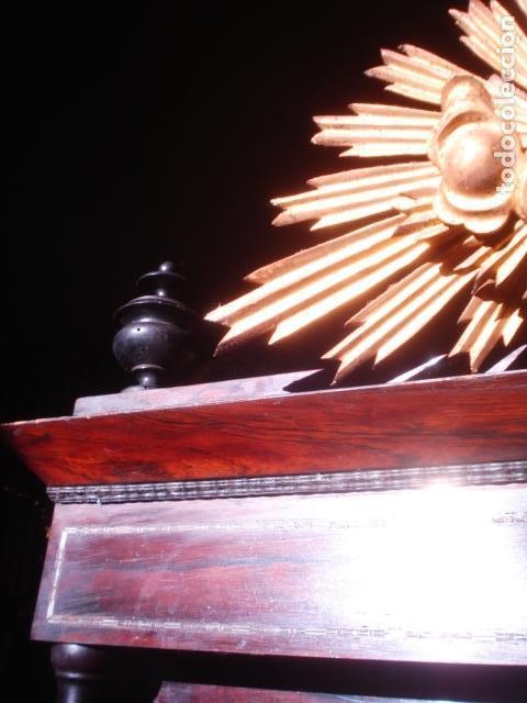Arte: VIRGEN DEL CARMEN CON NIÑO CAP I POTA EN CAPILLA DE PALISANDRO SXIX - Foto 3 - 141476770