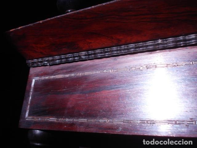 Arte: VIRGEN DEL CARMEN CON NIÑO CAP I POTA EN CAPILLA DE PALISANDRO SXIX - Foto 4 - 141476770