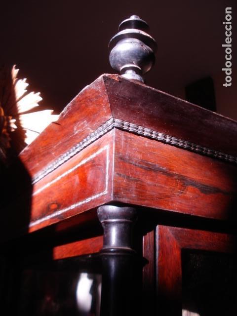 Arte: VIRGEN DEL CARMEN CON NIÑO CAP I POTA EN CAPILLA DE PALISANDRO SXIX - Foto 6 - 141476770