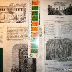 Arte: TOLEDO. 8 GRABADOS 1840-3. Lote 141491998