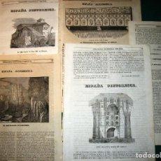 Arte: BURGOS. 8 GRABADOS. 1840-3. Lote 141492666
