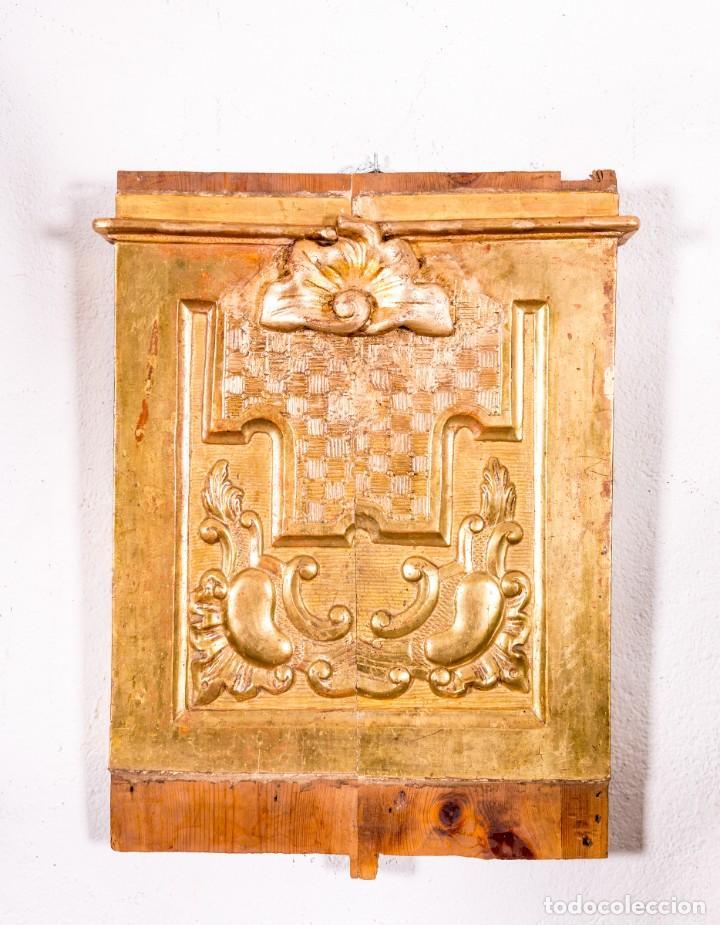 FRAGMENTO DE RETABLO S.XVIII (Arte - Arte Religioso - Retablos)