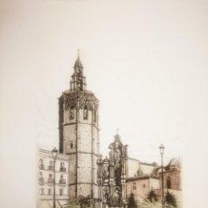 Arte: GRABADO RAMIRO UNDABEYTIA, CATEDRAL DE VALENCIA . Lote 141577846