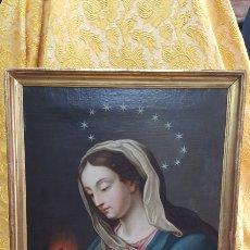 Arte: VIRGEN CON EL SAGRADO CORAZÓN DE JESÚS. Lote 141774464