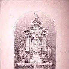 Arte: LITOGRAFÍA DE LA VIRGEN DE LOS MILAGROS - PATRONA DE EL PUERTO DE SANTA MARÍA (CÁDIZ). Lote 47268052