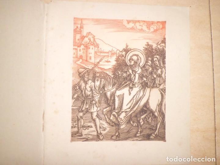 LOTE DE 3 GRABADOS EN PLANCHA DE NAVIDAD (Arte - Arte Religioso - Grabados)