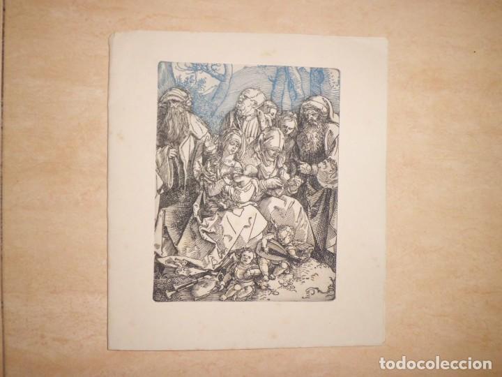Arte: LOTE DE 3 GRABADOS EN PLANCHA DE NAVIDAD - Foto 2 - 142194278