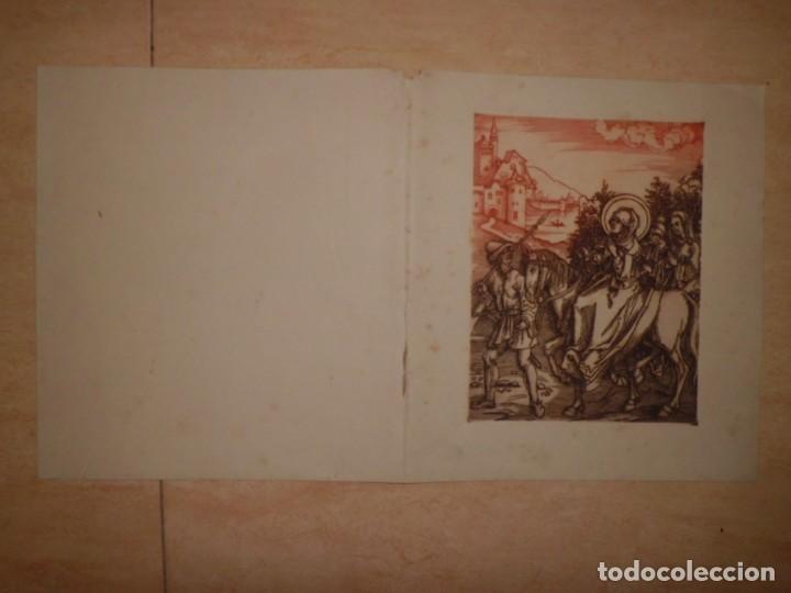 Arte: LOTE DE 3 GRABADOS EN PLANCHA DE NAVIDAD - Foto 5 - 142194278
