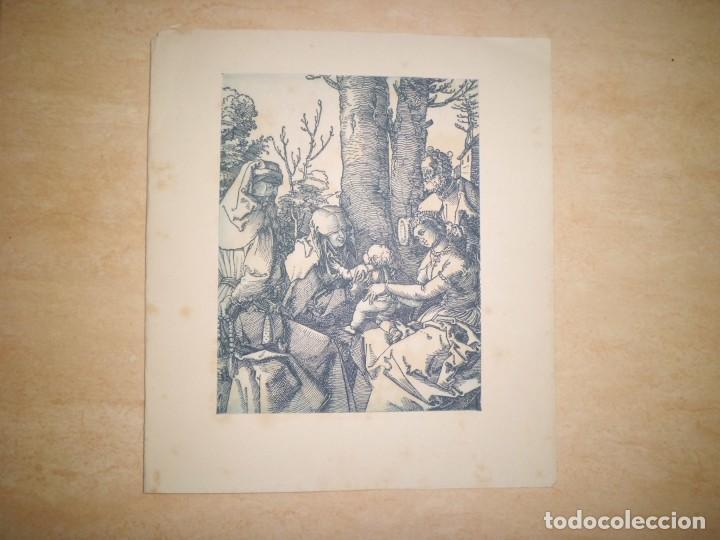 Arte: LOTE DE 3 GRABADOS EN PLANCHA DE NAVIDAD - Foto 6 - 142194278