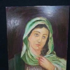 Arte: LA VIRGEN POR EL ARTISTA POLACO M.D.P.HRAPEK. Lote 142323002