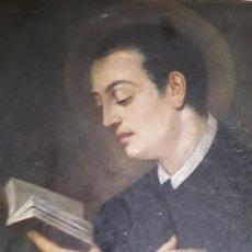Arte: PINTURA RELIGIOSA AL ÓLEO. S. XVIII. SAN LUIS GONZAGA. Lote 142407174