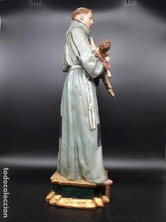 Arte: Escultura terracota San Antonio con niño - Foto 4 - 142440542