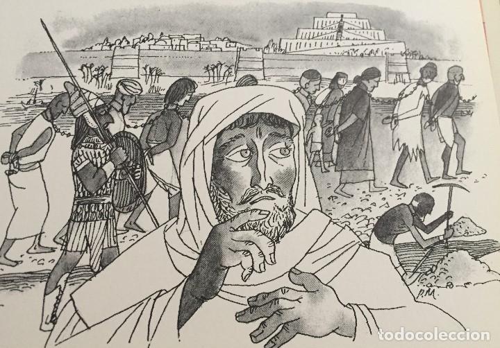 EZEQUIEL, OBRA ORIGINAL DE PIERRE MONNERAT (SUIZA 1917-BARCELONA 2005) (Arte - Arte Religioso - Pintura Religiosa - Acuarela)