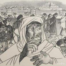 Arte: EZEQUIEL, OBRA ORIGINAL DE PIERRE MONNERAT (SUIZA 1917-BARCELONA 2005). Lote 142580246