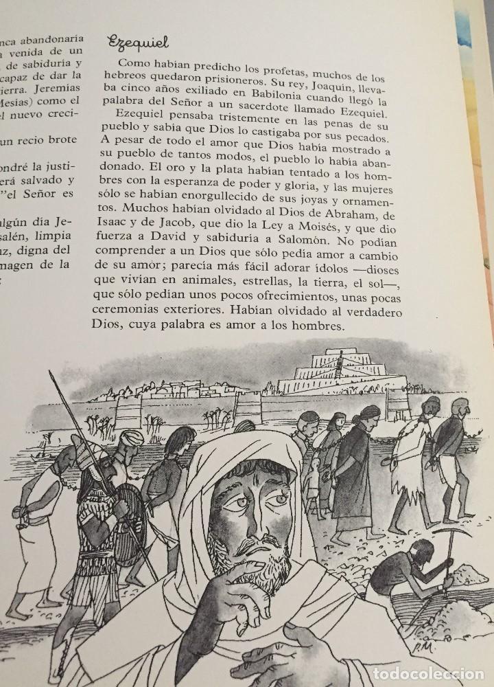 Arte: Ezequiel, obra original de Pierre Monnerat (Suiza 1917-Barcelona 2005) - Foto 2 - 142580246