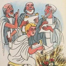 Arte: LOS 4 EVANGELISTAS, ORIGINAL DE PIERRE MONNERAT (SUIZA 1917-BARCELONA 2005). Lote 142582714