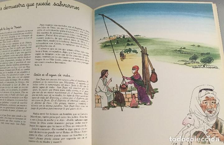 Arte: Jesus y la samaritana en el pozo, de Pierre Monnerat, reproducido - Foto 2 - 142583918