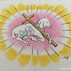Arte: OBRA ORIGINAL DE PIERRE MONNERAT (1917-2005). FIRMADA, SELLADA Y REPRODUCIDA. Lote 142712362