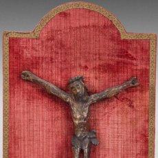 Arte: ATRIBUIDO A GIOVANNI TEUTONICO, CRUCIFIJO DEL SIGLO XV. MUY POCO COMÚN. CORPUS CHRISTI. Lote 143152914