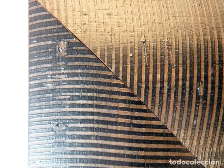 Arte: CUADRO DE TABLA PINTADA AL OLEO MOTIVO PAISAJE VENECIANO - Foto 5 - 143224146