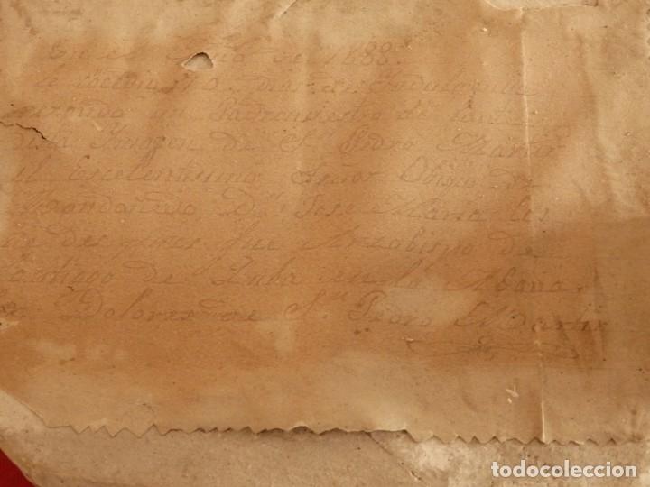 Arte: San Pedro Mártir. Imagen vestidera o cap i pota en madera tallada. 98 cm. Siglo XVIII. - Foto 10 - 143340742